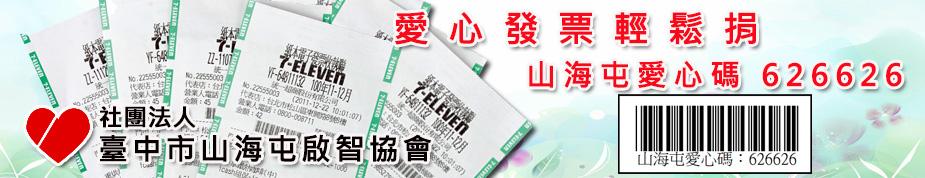 社團法人臺電子發票愛心碼626626